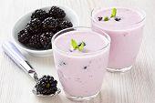 Yogurt With Sweet Dewberry