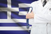 Concept Of National Healthcare System - Greece