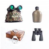 army equipment set