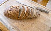 Crusty Wholewheat Bread