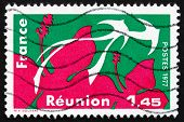 Postage Stamp France 1977 Reunion, Region Of France