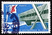Postage Stamp France 1977 Polytechnic School And X