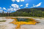 Emerald Pool Yellowstone