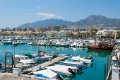 Marina of Benalmadena City, Spain