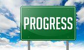 Progress on Green Highway Signpost.