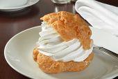 Gourmet Cream Puff