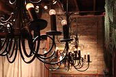 foto of light fixture  - Vintage light fixture  - JPG