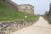 Castel Beseno of Trento, Italy