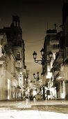 Night street, Santo Domingo