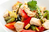 Chinese Cuisine - Chicken with Vegetables