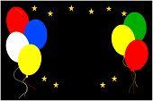 Balloons & Stars