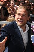 LOS ANGELES - SEP 9:  Charlie Hunnam at the Katey Sagal Hollywood Walk of Fame Star Ceremony at Holl