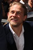 LOS ANGELES - SEP 9:  Charlie Hunnam at the Katey Sagal Hollywood Walk of Fame Star Ceremony at Hollywood Blvd. on September 9, 2014 in Los Angeles, CA