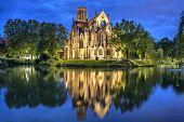 St John's Church At The Evening In Stuttgart