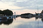 Yacht Mooring In Honfleur Town, France