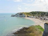 Eretrat Resort Village On English Channel Beach
