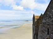 Bay And Mont Saint-michel Abbey, Normandy