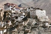 Lamayuru Gompa - Buddhist Monastery In Indus Valley