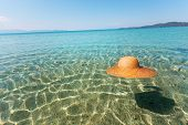 Sun Hat In The Sea