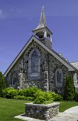 Old Stone Church On Mackinac Island Exterior