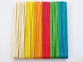 Colourful Lollipop Sticks