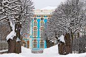 Tsarskoye Selo (Pushkin), Saint-Petersburg, Russia. The Catherine Palace