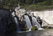 Caserta Royal Palace Garden fountain