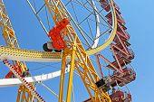 Largest Ferris Wheel In Ukraine, Odessa, Shevchenko Park