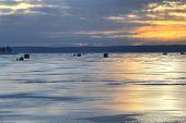 Ice fishing huts 075