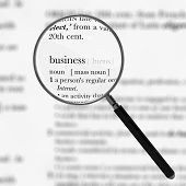 Business Dictionary Definition