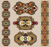 foto of adornment  - ornamental ethnic floral adornment - JPG
