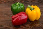 Fresh Bulgarian Peppers