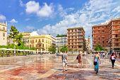 VALENCIA, SPAIN - SEPT 10: Cityscape of Valencia. September 10, 2014 in Valencia