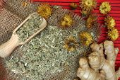 Traditional  herbal medicine.