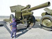 Child And Gun