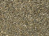 Paving Made Of Little Stones
