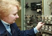pic of relay  - Operator woman - JPG