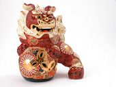 foto of nick-nack  - Beautiful detailed Asian dragon ornament - JPG