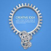 Engineering gear idea on paper