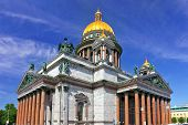 Saint Isaac's Cathedral In St Petersburg, Russia