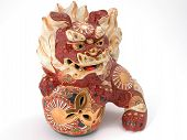 pic of nick-nack  - Beautiful detailed Asian dragon ornament - JPG