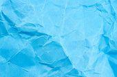 Blue Paper Background Texture