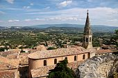 The Village Of St. Saturnin-les-apt
