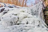 Icy Mccormicks Creek Falls
