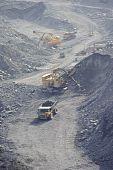 Extração de minério de ferro na carreira