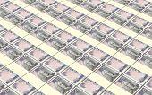 picture of british pound sterling note  - Scotland pound bills stacks background - JPG