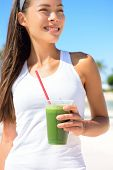 stock photo of cleanse  - Green smoothie - JPG