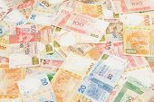 foto of twenty dollars  - Hong Kong Dollars - JPG