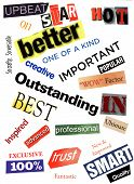 Better - A Word Collage
