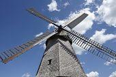 picture of windmills  - The windmill Petershagen  - JPG